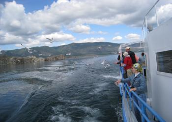 На корабле по Малому морю