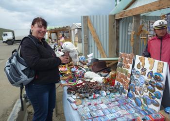 Сувениры на Байкале